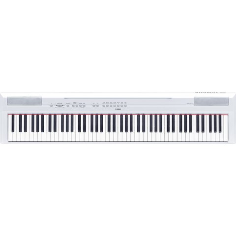 Yamaha P115WH White 88-Note Weighted Action Digital Piano w/ GHS Action
