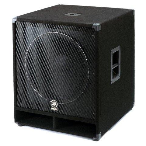 """Yamaha SW118V Carpeted 18"""" Subwoofer Loudspeaker"""