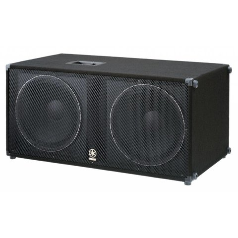 "Yamaha SW218V Carpeted Dual 18"" Subwoofer"