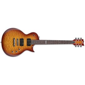 LTD ESP LTD EC-100 Electric Guitar Quilted Maple Faded Cherry Sunburst
