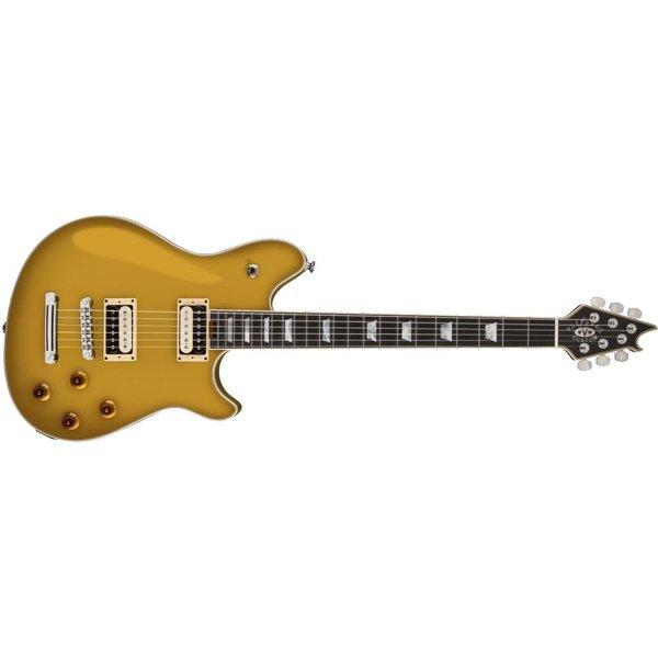 EVH EVH Wolfgang USA Custom Deluxe, Ebony Fingerboard, Gold