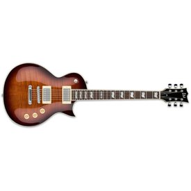 LTD ESP LTD EC-256 Electric Guitar Flamed Maple Dark Brown Sunburst