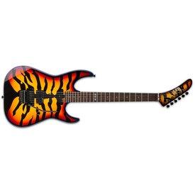 LTD ESP LTD GL-200 George Lynch Signature Series Electric Guitar Sunburst Tiger