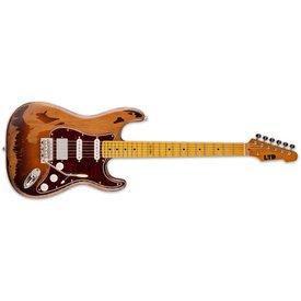 LTD ESP LTD GL-256 George Lynch Signature Series Electric Guitar Distressed