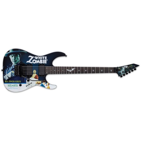 LTD ESP LTD KH-WZ Kirk Hammett White Zombie Signature Series Electric Guitar
