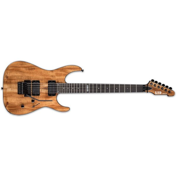 LTD ESP LTD M-1000 Koa Electric Guitar Natural