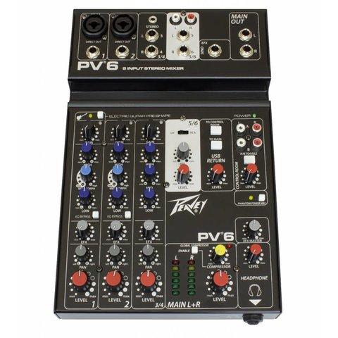 Peavey PV 6 Analog Mixer