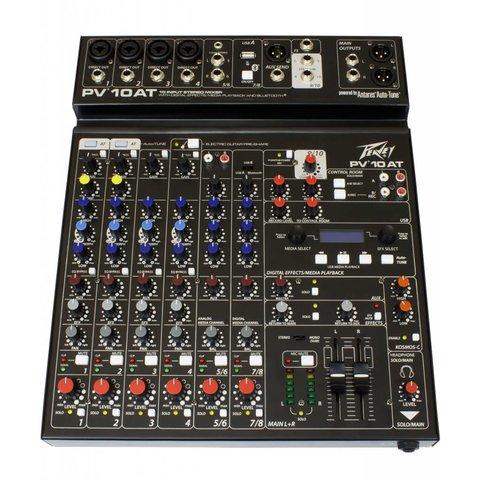 Peavey PV 10 AT Analog Mixer w/ Antares Auto-Tune