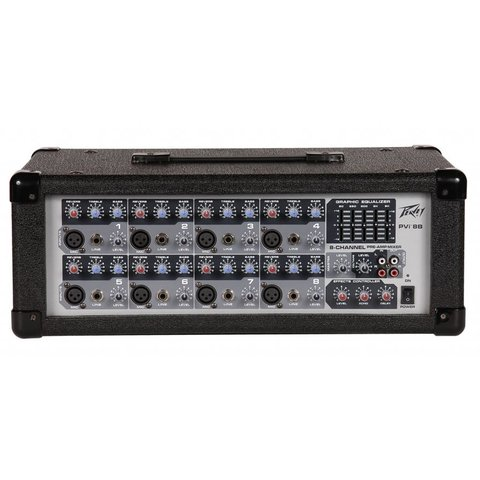 Peavey PVi 8B 100W 8-Channel Powered Mixer