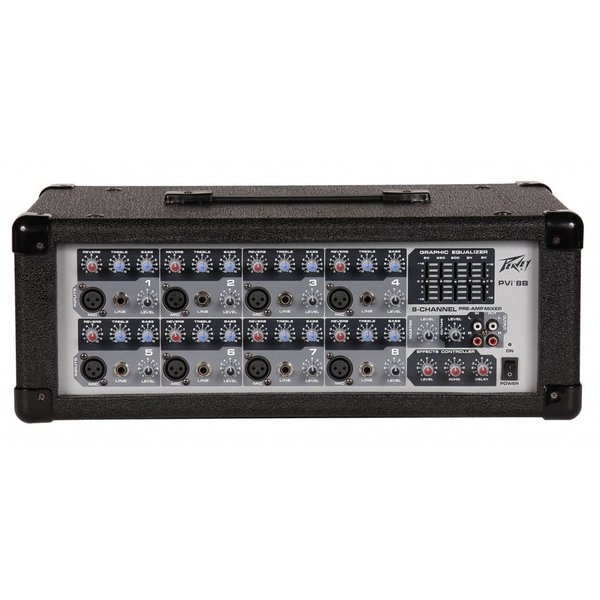 Peavey Peavey PVi 8B 100W 8-Channel Powered Mixer