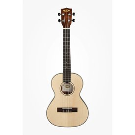 Kala Kala Thinline KA-SSTU-T Tenor Travel Ukulele W/Bag, Satin/Solid Spruce/Mahogany