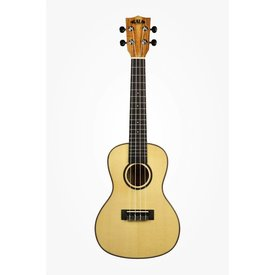 Kala Kala Solid Spruce Top KA-FMTG Tenor Ukulele, Gloss/Solid Spruce/Flame Maple