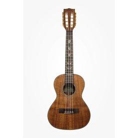 Kala Kala Solid Acacia KA-ASAC-T8 Tenor 8-String Ukulele, Satin/All Solid Acacia