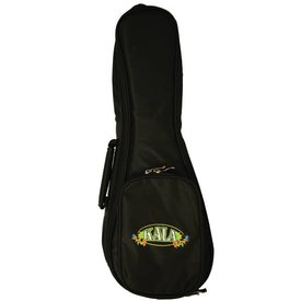 Kala Kala DUB-SK Soprano Deluxe Heavy Padded Kala Logo Ukulele Bag