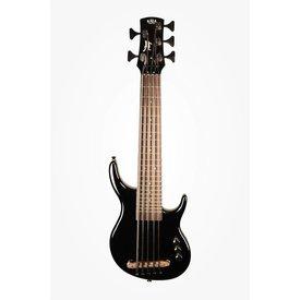 Kala Kala Solid Body UBASS-SUB5FS-SBK U-Bass, Solid Body, 5-String, Fretted, Gloss Black With Bag