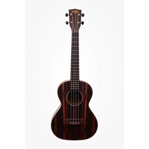 Kala Ebony Series KA-EBY-T Tenor Ukulele, Satin/Striped Ebony