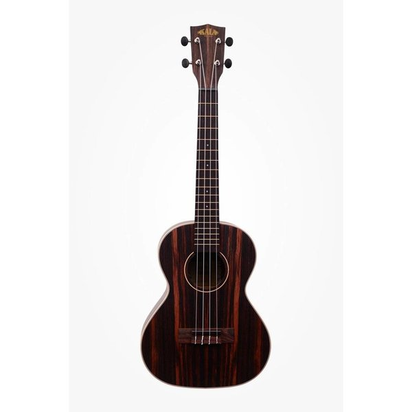 Kala Kala Ebony Series KA-EBY-T Tenor Ukulele, Satin/Striped Ebony