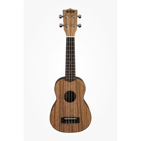 Kala Kala Pacific Walnut Series KA-PWS Soprano Ukulele, Satin/Pacific Walnut