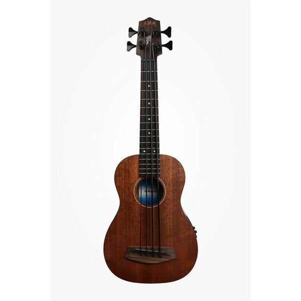 Kala Kala All Solid Acoustic/Electric UBASS-SMHG-FS/LH U-Bass Fretted W/Case Left Handed, Satin/All Solid Mahogany