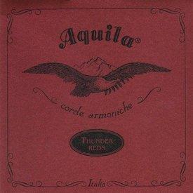 Kala Kala AQ-R-TG-4 Aquila Thundergut Ubass 4 String Set, Red