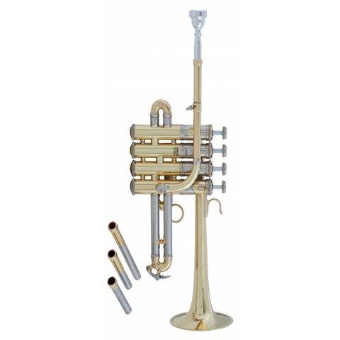 Bach AP190 Stradivarius Artisan Professional A/Bb Piccolo Trumpet, Lacquer