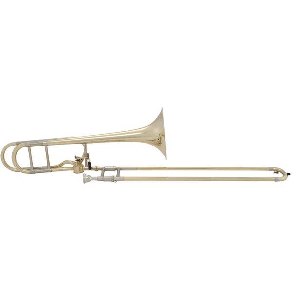 Bach Bach 50A Stradivarius Professional Bb/F Bass Trombone Hagmann Valve Open Wrap