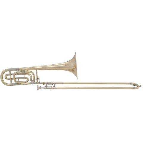 Bach 50B Stradivarius Professional Bb/F Bass Trombone, Gold Brass Bell