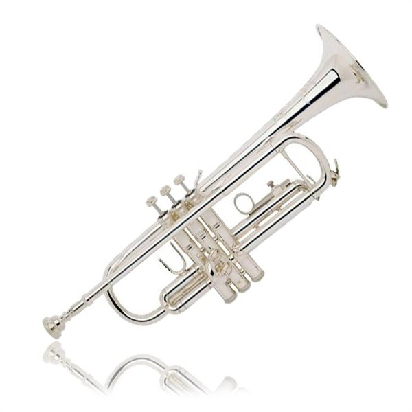 Bach Bach TR200S Performance Bb Trumpet, Silver Plated w/ Case