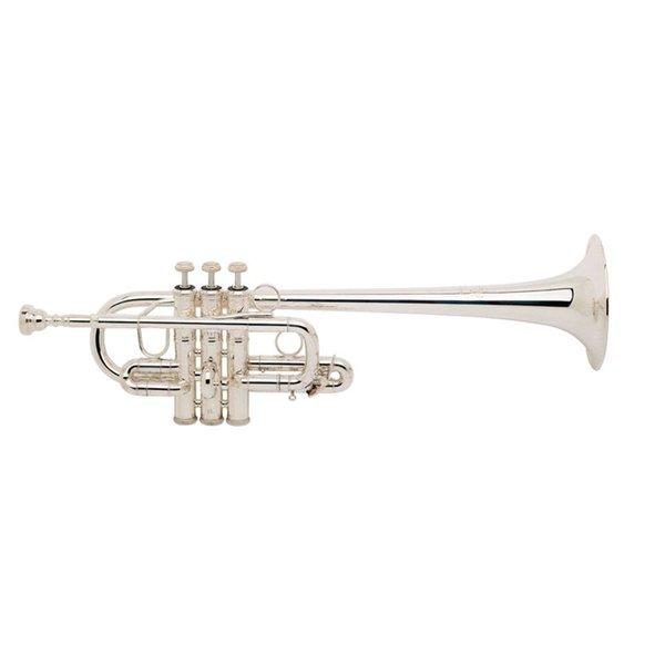 """Bach Bach 189XL Stradivarius Profess Eb Soprano Trumpet, .462"""" Bore, Clear Lacquer"""