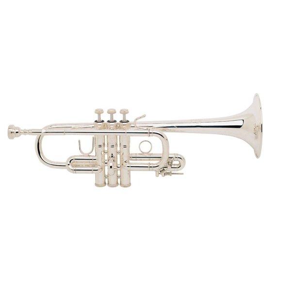 Bach Bach D180 Stradivarius Professional D Trumpet, Medium Bore, Clear Lacquer