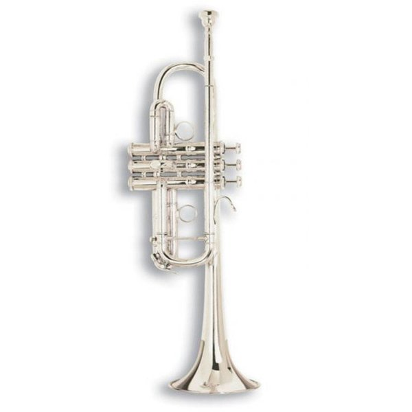 "Bach Bach C180SL229PC Stradivarius ""Philly C"" Professional C Trumpet, Silver Plated"