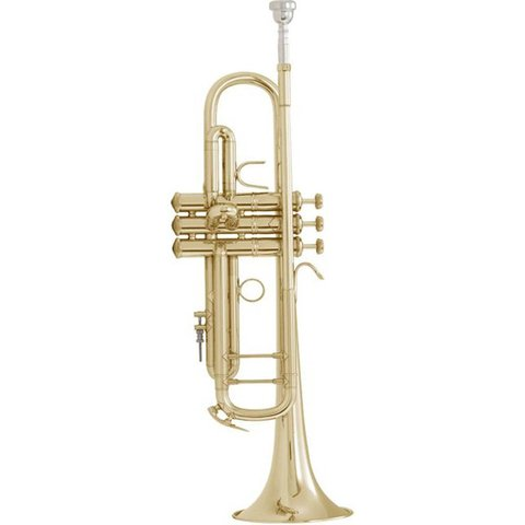 Bach LT18072 Stradivarius Lightweight Professional Bb Trumpet, #72 Bell, Lacquer