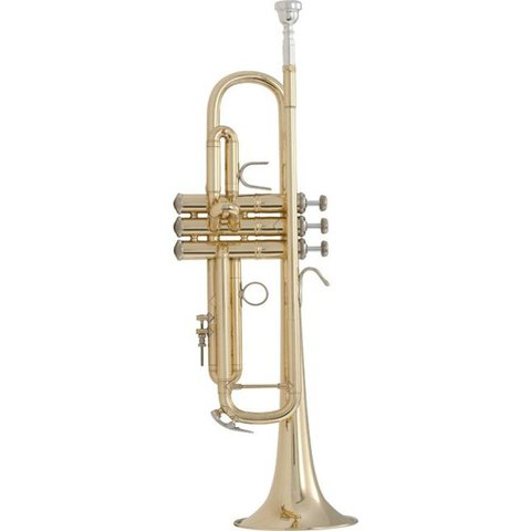 Bach 18072 Stradivarius 180 Series Professional Bb Trumpet, #72 Bell, Lacquer