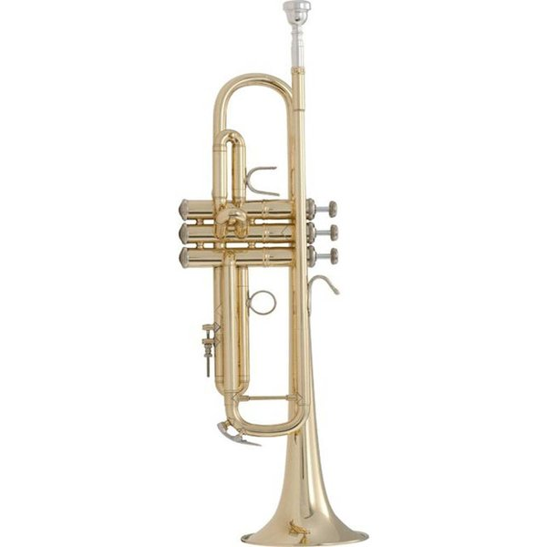 Bach Bach 18072 Stradivarius 180 Series Professional Bb Trumpet, #72 Bell, Lacquer