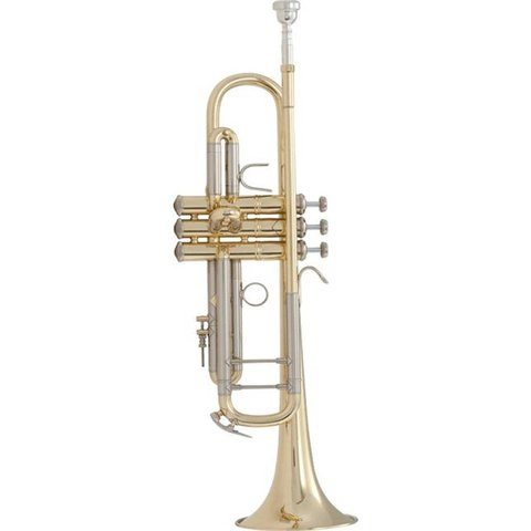 Bach 18043 Stradivarius 180 Series Professional Bb Trumpet, #43 Bell, Lacquer