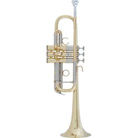 Bach Bach AC190 Stradivarius Artisan Professional C Trumpet, Lacquer Finish
