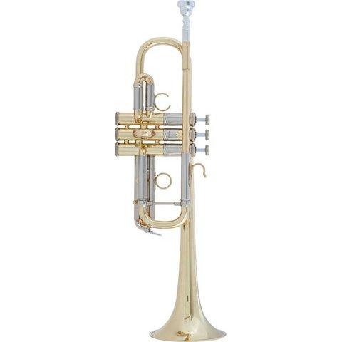 Bach AC190 Stradivarius Artisan Professional C Trumpet, Lacquer Finish