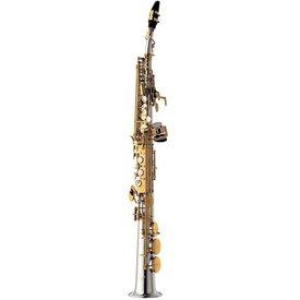 Yanagisawa Yanagisawa SS9930 Profess Bb Soprano Saxophone, Solid Sterling Silver Body/Neck