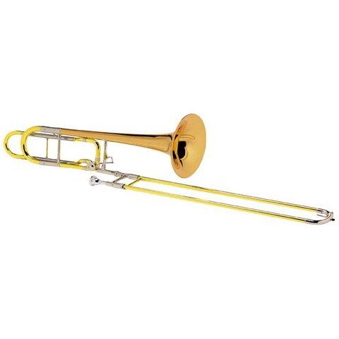 Conn 110H Professional Bass Trombone, F Rotor, Standard Finish