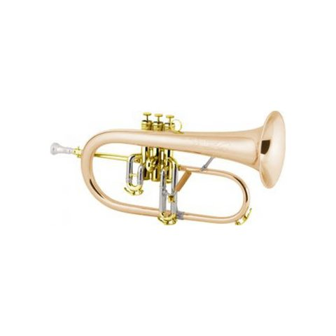 Conn 1FRGP Vintage One Professional Bb Flugelhorn, Gold Plated