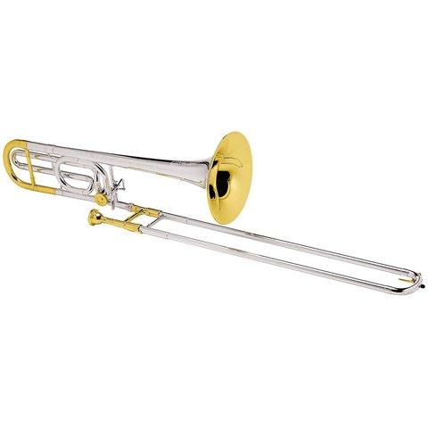 Conn 88HSGX Symphony Pro Tenor Trombone Slvr Pltd Gld Trm Strlng Slvr Bll