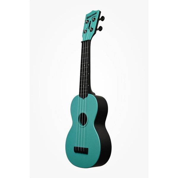 Kala Kala KA-SWG-BL Waterman Composite Soprano Ukulele, Glow-in-the-Dark Blue