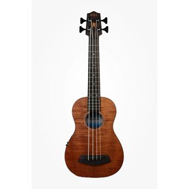 Kala Kala UBASS-EM-FSRW Acoustic/Electric UBass, Mahogany w/ Roundwound Strings