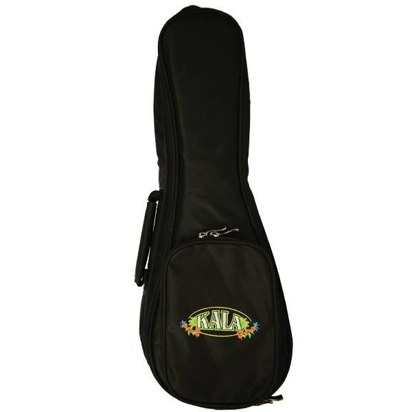 Kala Kala DUB-BK Baritone Deluxe Heavy Padded Kala Logo Ukulele Bag