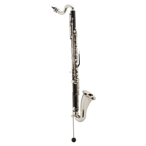 Leblanc L60 Professional Bb Bass Clarinet, Grenadilla Wood