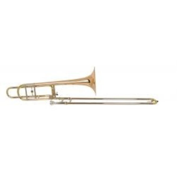 "Holton Holton TR160 Professional Tenor Trombone, Open Wrap, 9"" Rose Brass Bell"