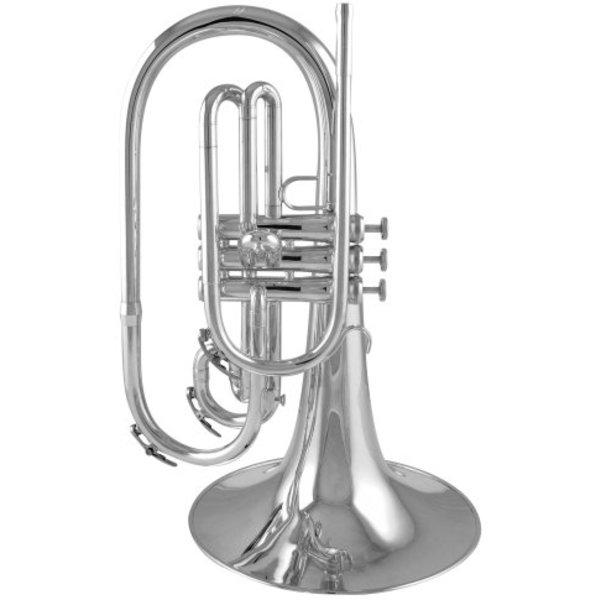 King King K20 F Marching Mellophone, Standard Finish