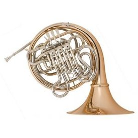 Holton Holton H276 Merker-Matic Profess F/Bb Double French Horn/Detachable Bell, Bronze