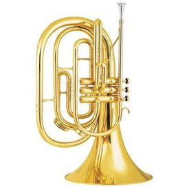 King King 1122 Ultimate Series Bb Marching French Horn, Standard Finish