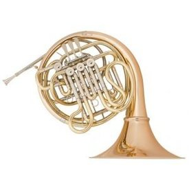 Holton Holton H281 Farkas Pro F/Bb Double French Horn Nckl Slvr w Detach Bronze Bell